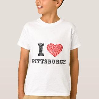 I-Kärlek-Pittsburgh Tee Shirt