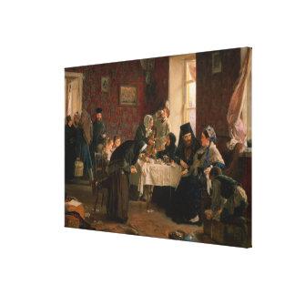 I klostergästhemmet canvastryck