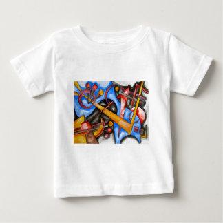 I kosmoset - geometrisk abstrakt konst t shirts