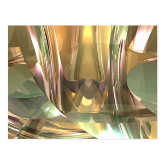 I lagert exponeringsglas vykort