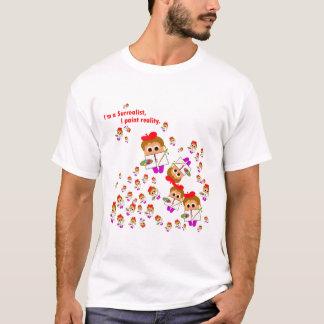 """I�m en surrealistisk"" konstnärT-tröja T Shirt"