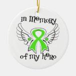 I minne av min non-Hodgkins lymfkörtelcancer för h Julgransdekorationer