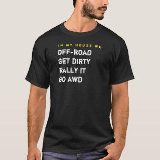 i mitt hus oss av-väg tee shirts