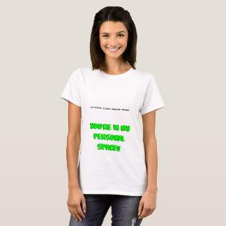 I mitt personliga utrymme tee shirt