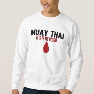 I mitt THAILÄNDSKA blod MUAY Lång Ärmad Tröja