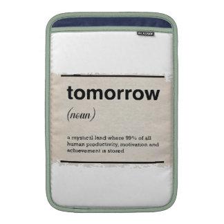 I morgon sleeves för MacBook air