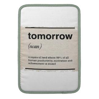 I morgon MacBook sleeve