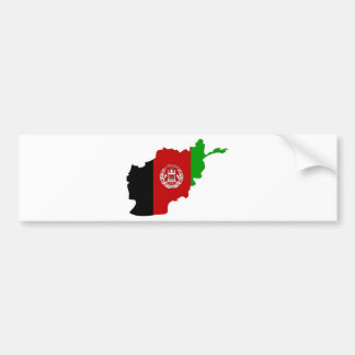 I naturlig storlek Afghanistan flaggakarta Bildekal