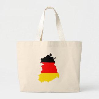 I naturlig storlek East Germany flaggakarta Jumbo Tygkasse