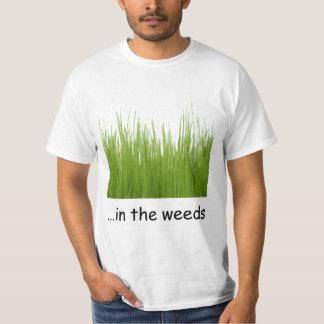 i ogräsen t shirts