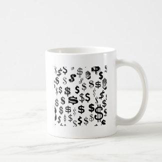 I pengarna kaffemugg
