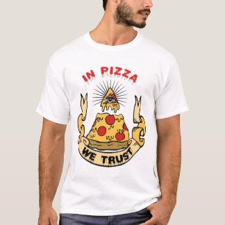 I Pizza litar på vi T Shirt