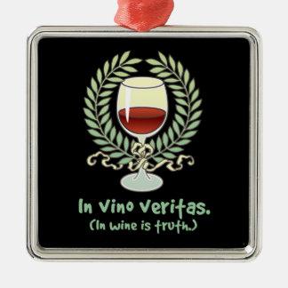 I prydnad för VinoVeritas vin Julgransprydnad Metall