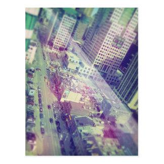 I staden vykort
