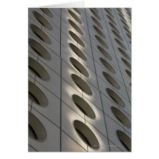 I stadens centrum byggnad, Hong Kong, china Hälsningskort