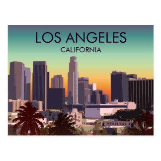 I stadens centrum L.A. Vykort