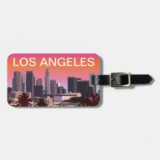I stadens centrum Los Angeles - anpassadet Bagagebricka