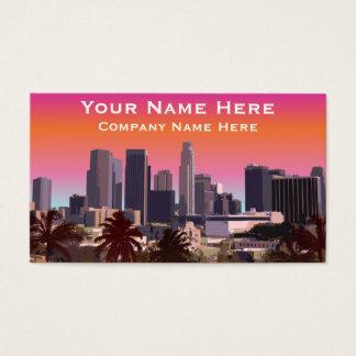 I stadens centrum Los Angeles - anpassadet Visitkort