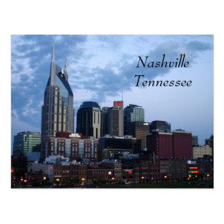 I stadens centrum Nashville, Tennessee Vykort