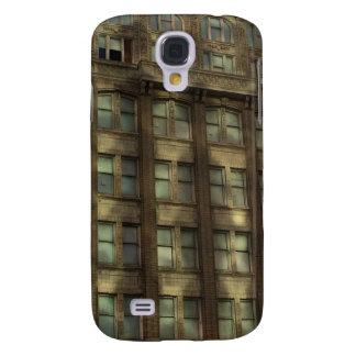 I stadens centrum Oakland Kalifornien skuggar Galaxy S4 Fodral