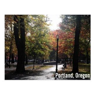 I stadens centrum Portland, PSU Parkblocks Vykort