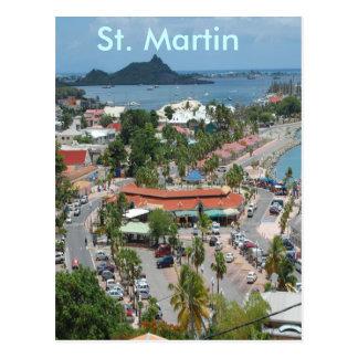 I stadens centrum St Martin Vykort