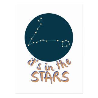 I stjärnorna vykort