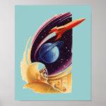 I till den Kosmos affischen Affisch