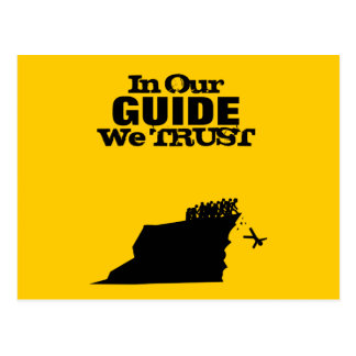 I vårt vägleda oss litar på vykort
