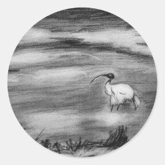 Ibis Runt Klistermärke