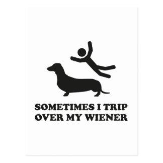 Ibland snubblar jag över min Wiener Vykort