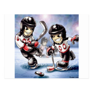 icehockey vykort