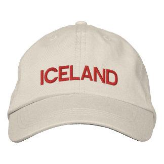 Iceland* personifierade den justerbara hatten broderad keps