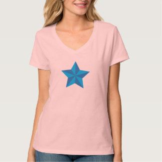Iconic blåttstjärna t shirt