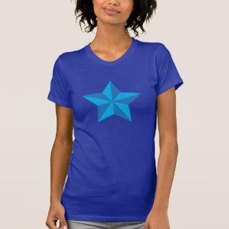 Iconic blåttstjärna t shirts