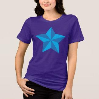 Iconic blåttstjärna t-shirts