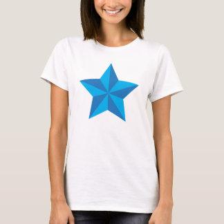 Iconic blåttstjärna tee shirt