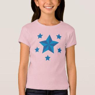 Iconic blåttstjärnor t-shirt