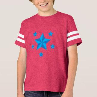 Iconic blåttstjärnor tee shirt