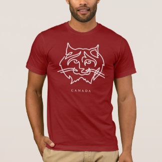 Iconic Canadiana lodjur Tee Shirt