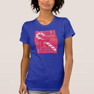 Iconic candy cane t shirts