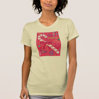 Iconic candy cane tshirts