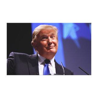 Iconic Donald Trump avbildar Canvastryck