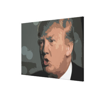 Iconic ENORMA Donald Trump avbildar Canvastryck