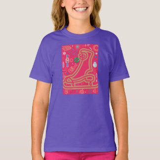 Iconic figurskridsko t-shirt