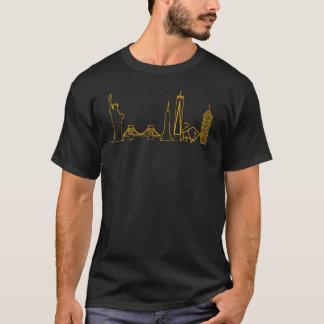 Iconic horisontskjorta för NYC Tee Shirt