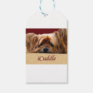 iCuddleYorkshire Terrier Presentetikett
