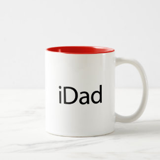 iDad (I-pappa) - en mugg precis för pappor