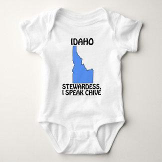 Idaho - stewardessen, talar jag gräslöken t-shirt