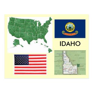 Idaho USA Vykort